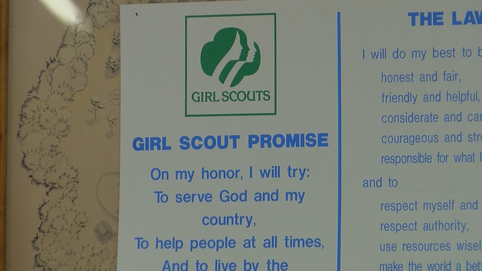 Girl Scouts weren't able to make cookie sales in person during the pandemic but are hoping to...