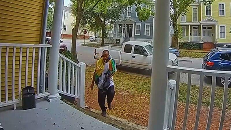 Savannah package theft suspect.