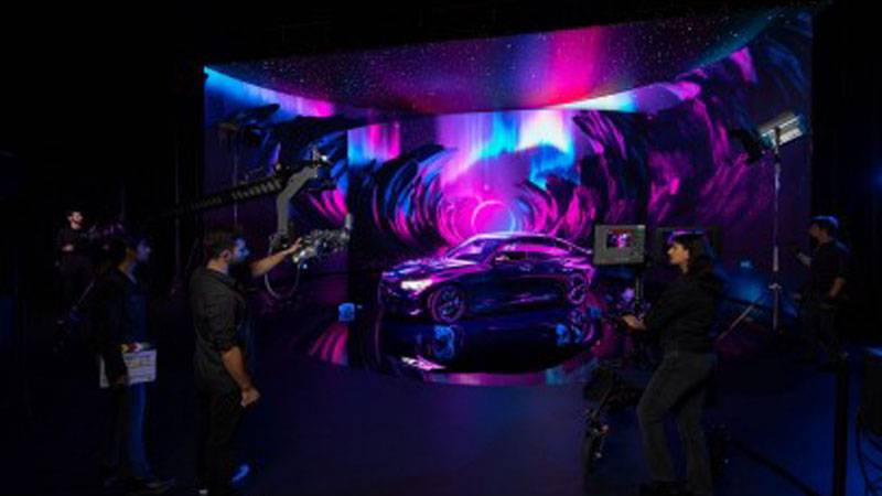 SCAD opened its new Extended Reality (XR) Stage at Savannah Film Studios on Friday, Oct. 22,...
