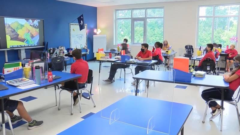 Beaufort, Hampton and Jasper County School Districts start back on Monday, Aug. 16, 2021.