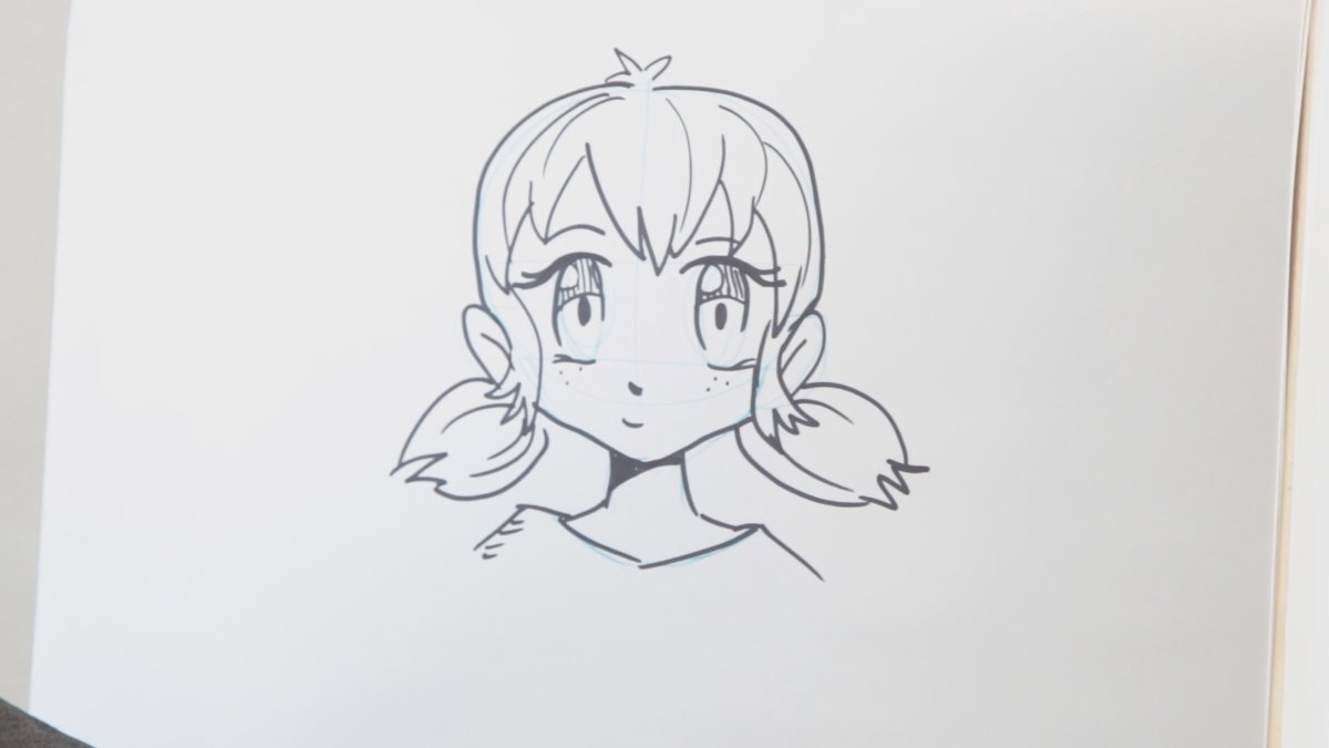Brian Byers shows us how to draw anime!