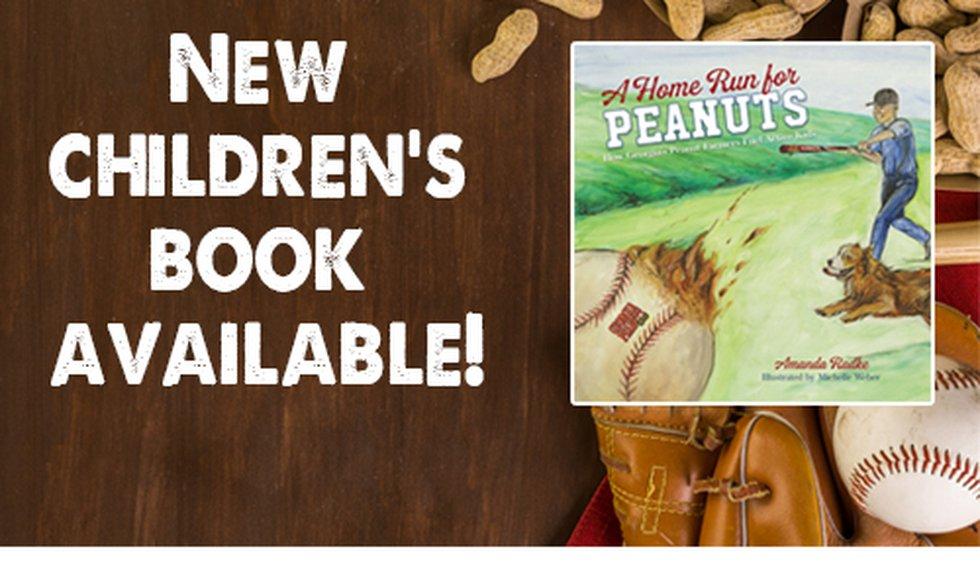 The Georgia Peanut Commission's new children's book