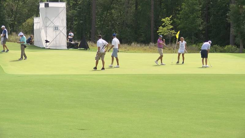 There is no sign outside the Congaree Golf Club and it is situated so far back in the woods of...