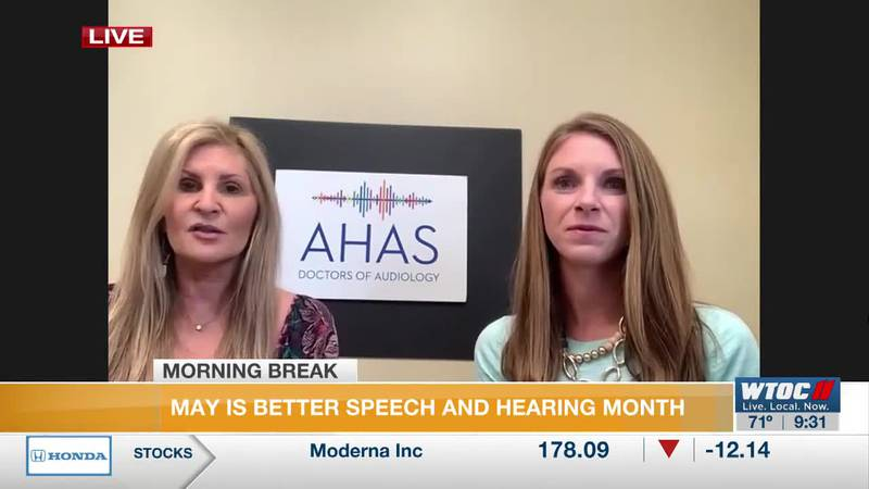 May is Better Speech and Hearing Month