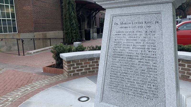 The plan for Savannah's only monument of Dr. Martin Luther King Jr. has been in the works for...