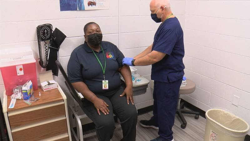 At each high school vaccination clinic, SCCPSS will also offer the vaccine to neighboring...