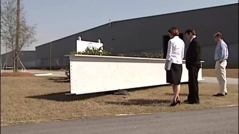 Remembering Sept. 11: WTC Memorial beams arrived in Savannah