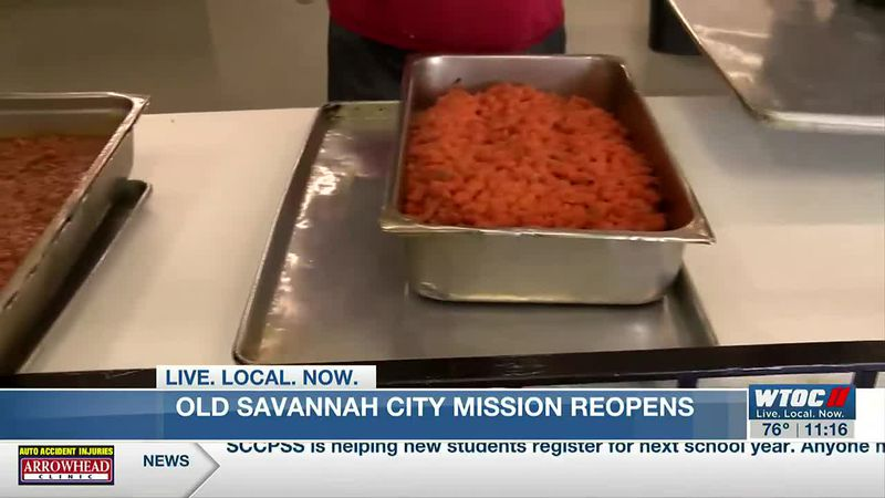 Old Savannah City Mission reopens
