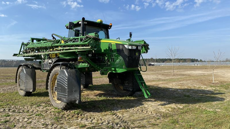 Jonathan Mann and his family are getting ready to plant 800 acres of peanuts this season.