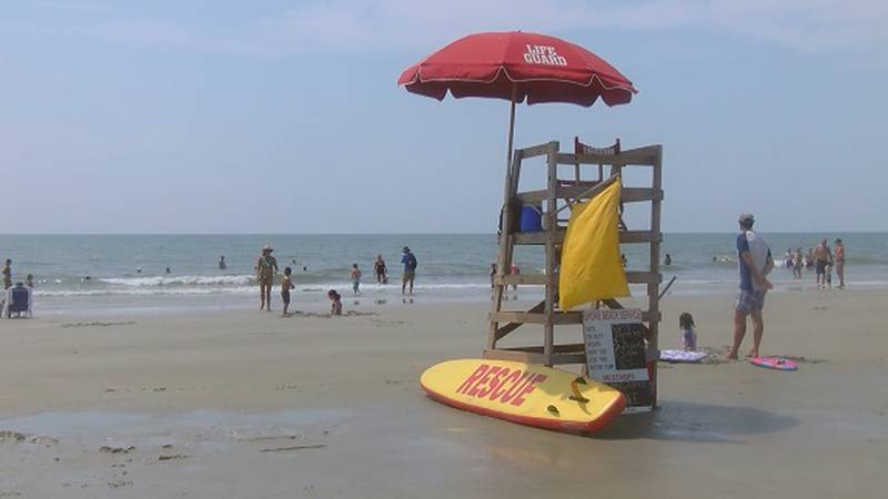 A file photo of Hilton Head Island. Not a depiction of where the shark bite occurred.