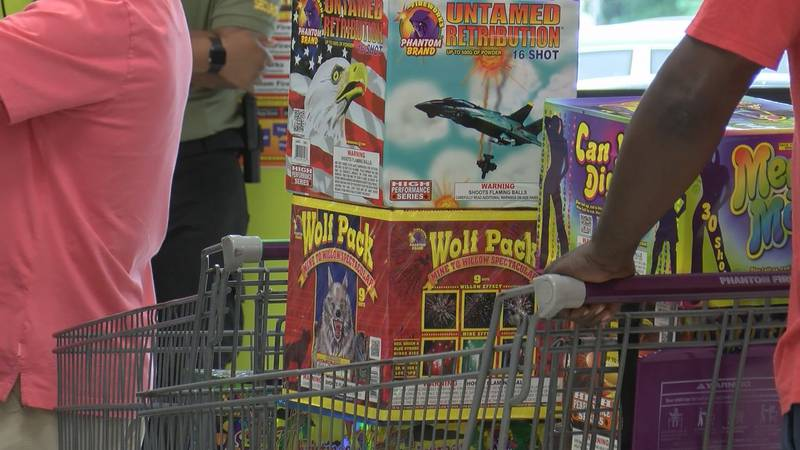 Firework sales are increasing ahead of the Fourth of July holiday.