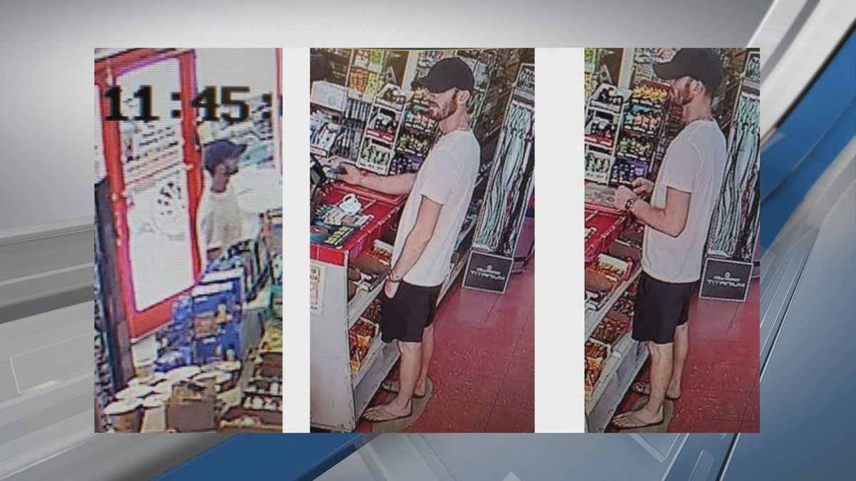 Pooler Police looking for man wanted for Financial Transaction Card Fraud.