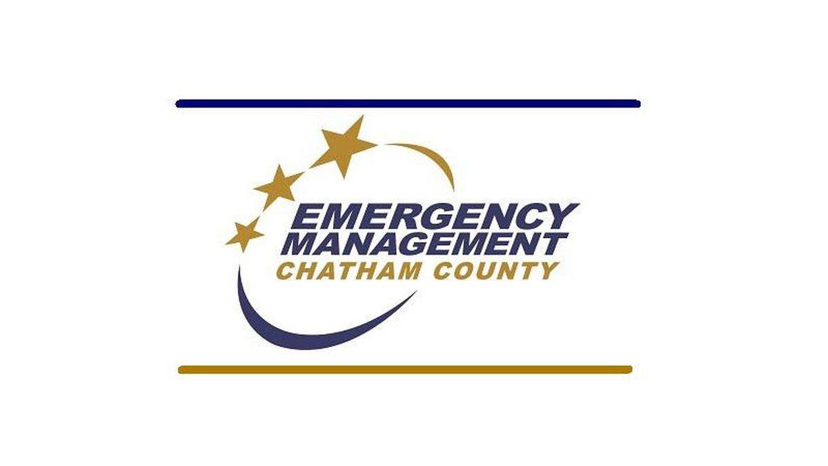 Chatham County EMA logo.