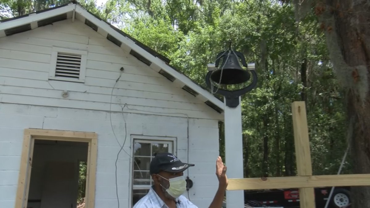 Eugene Harris is working to restore the Prayer House in Richmond Hill to the way it looked when...