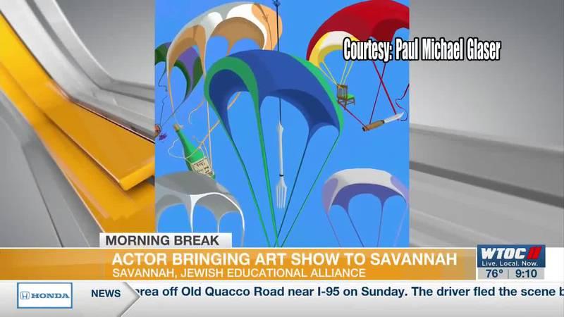 Actor Paul Michael Glaser brings art show to Savannah's Jewish Educational Alliance