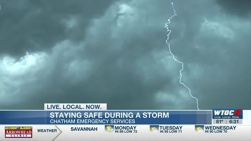 'When thunder roars, go indoors:' how to stay safe when lightning strikes