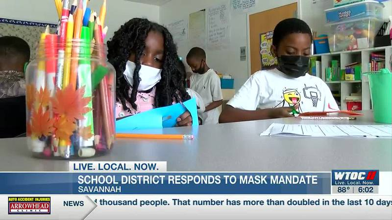 Mask mandate reinstated in Savannah as COVID-19 cases rise again