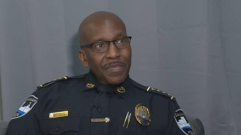 Savannah Police Department Chief Roy Minter
