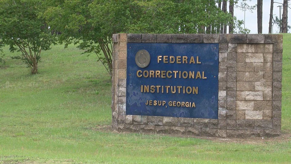 We're hearing from an employee at the Federal Correctional Institution in Jesup who's worried...