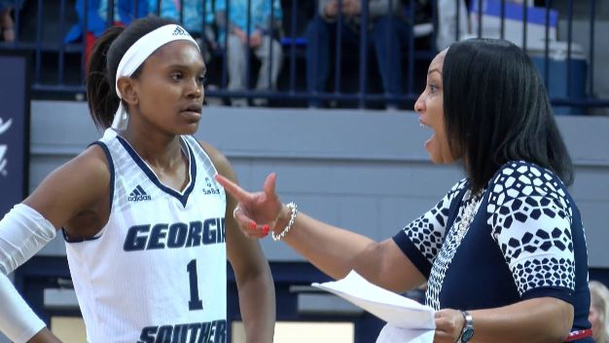 Georgia Southern head women's basketball coach Anita Howard is a mom of three and hoping to...