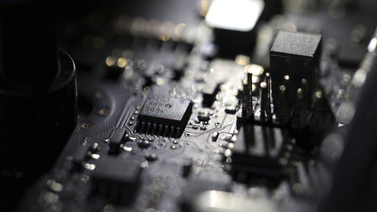 FILE - This Feb 23, 2019, file photo shows the inside of a computer. The Biden administration...
