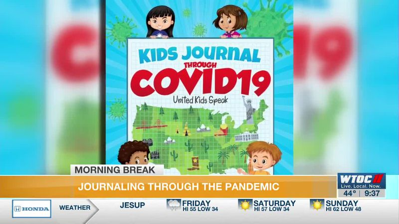 A new book, Kids Journal Through COVID 19: United Kids Speak features 50 essays from students...