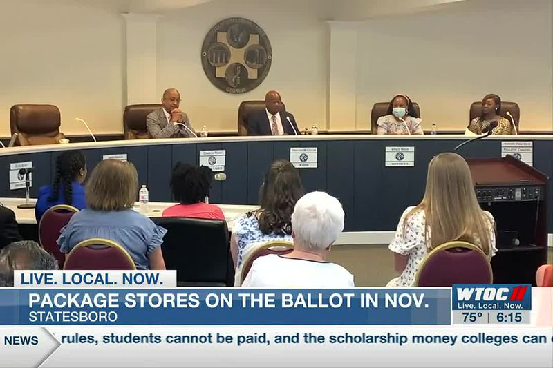 Package stores on the ballot in Statesboro in Nov.