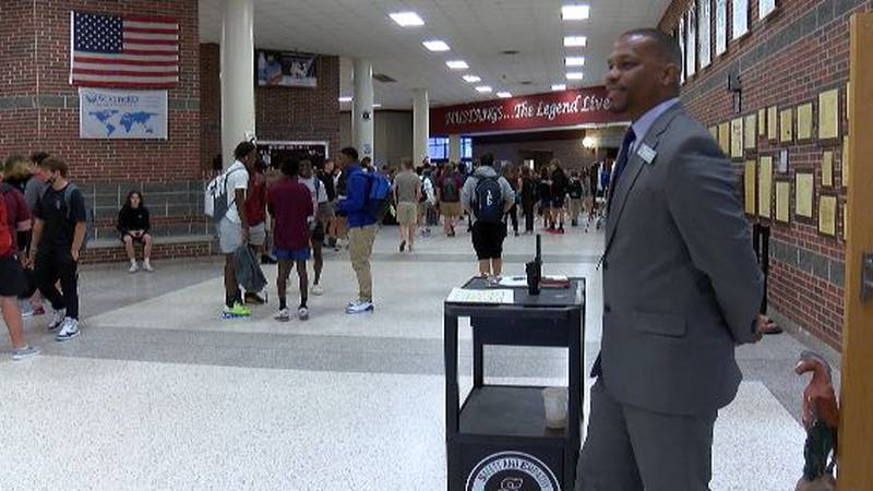 First day at South Effingham HS