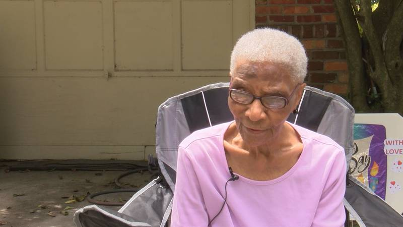 Lucille Wright turned 102 years old on Saturday.