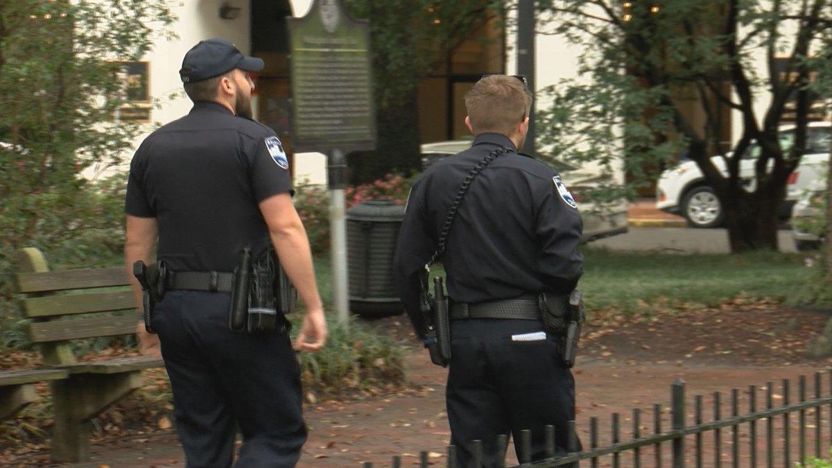 Savannah officers on patrol