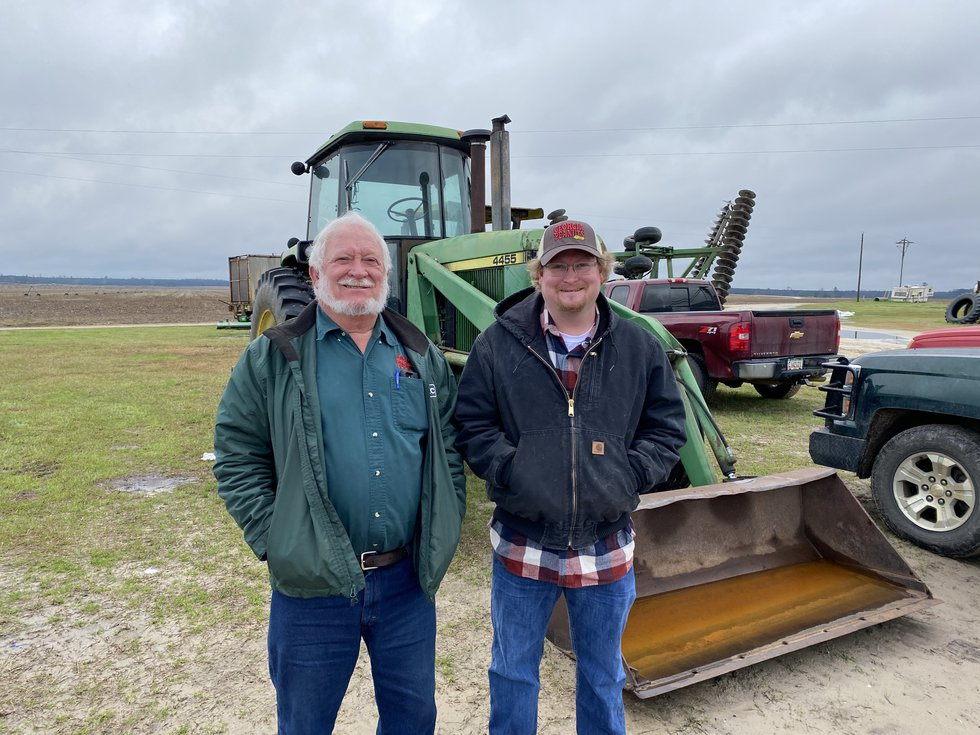 Knapp plans to keep the family farm going for as long as he can.