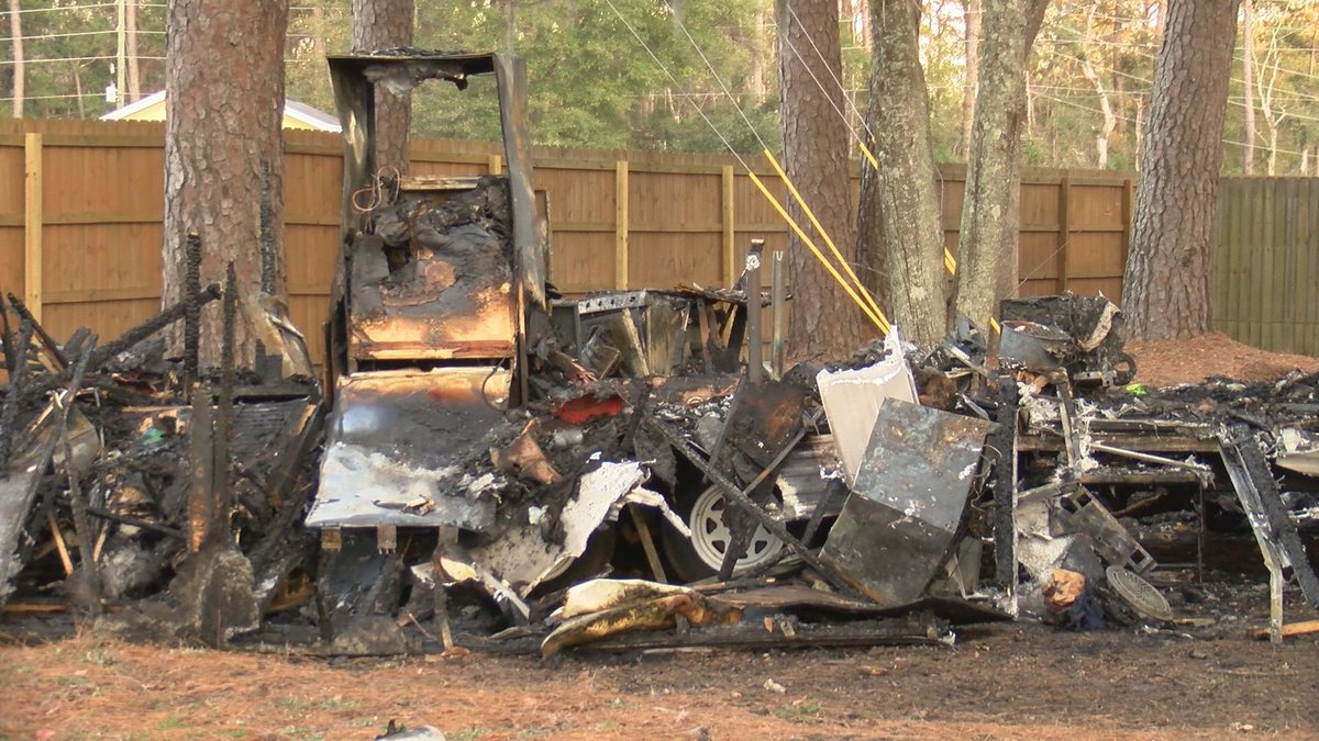 The Beaufort County Sheriff's Office said the fire happened at 9 a.m. on Wednesday off of...