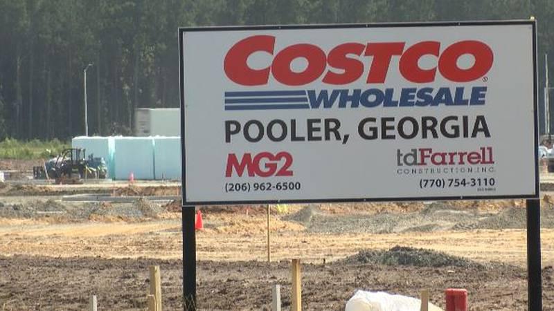 Pooler Costco Construction