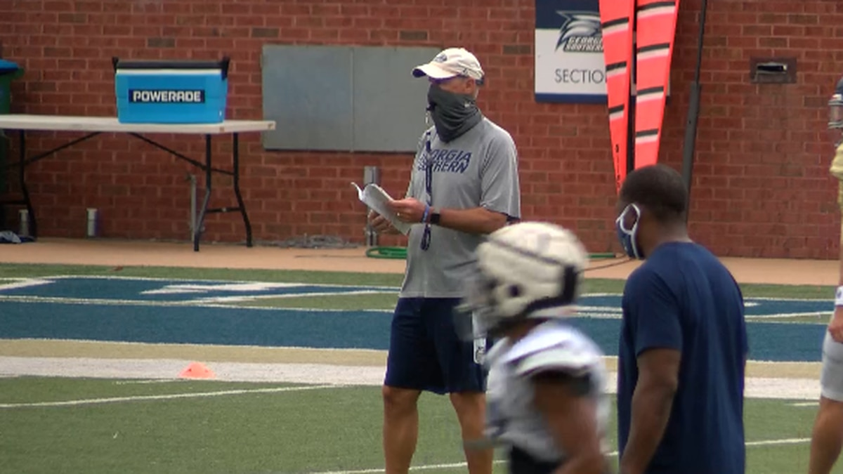 Bob DeBesse has been fired as Georgia Southern's offensive coordinator. The Eagles are 9th in...