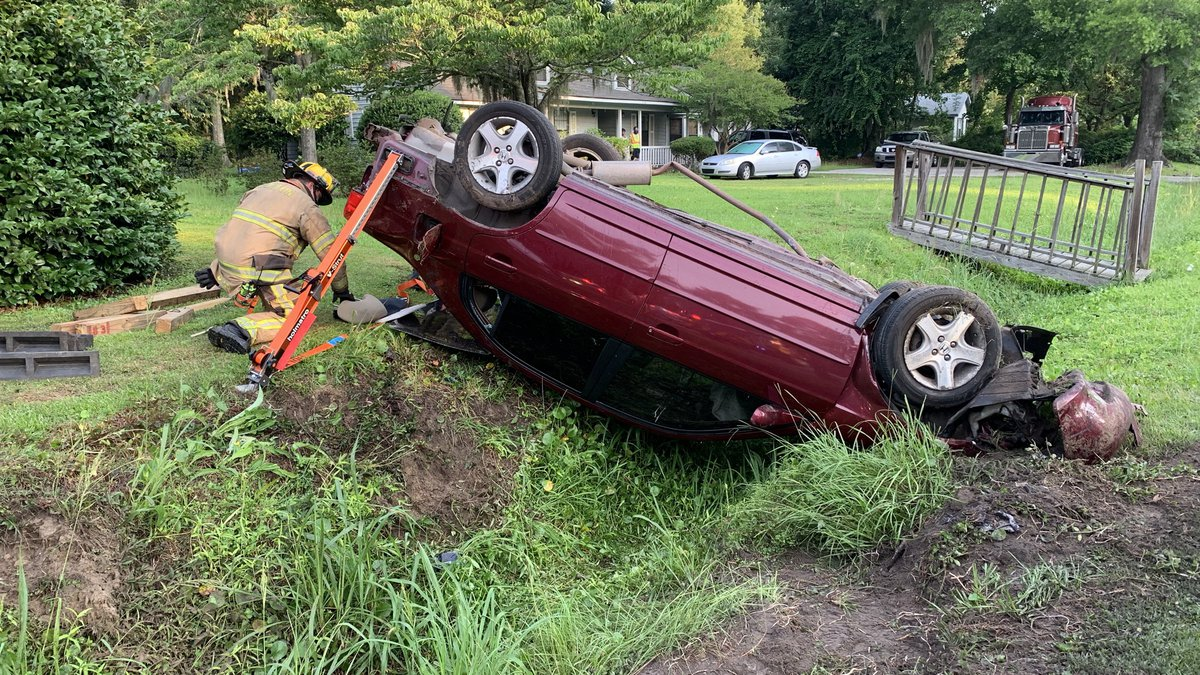 On Sunday, Firefighters said they responded to another crash on Broad River Boulevard. They say...