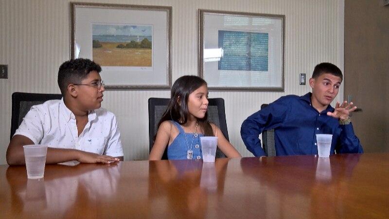 Josiel Santiago Ramos, Camelia Colón Gonzalez and Eric Circuns Perez talk about memories of...