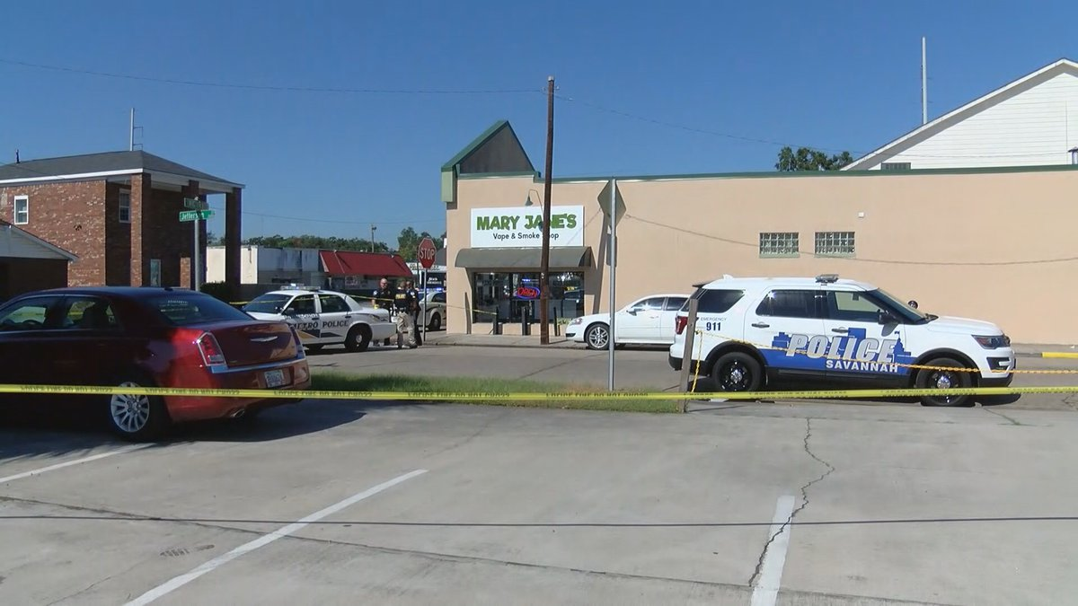 Employee pulls out gun and stops attempted robbery at a Savannah vape shop.