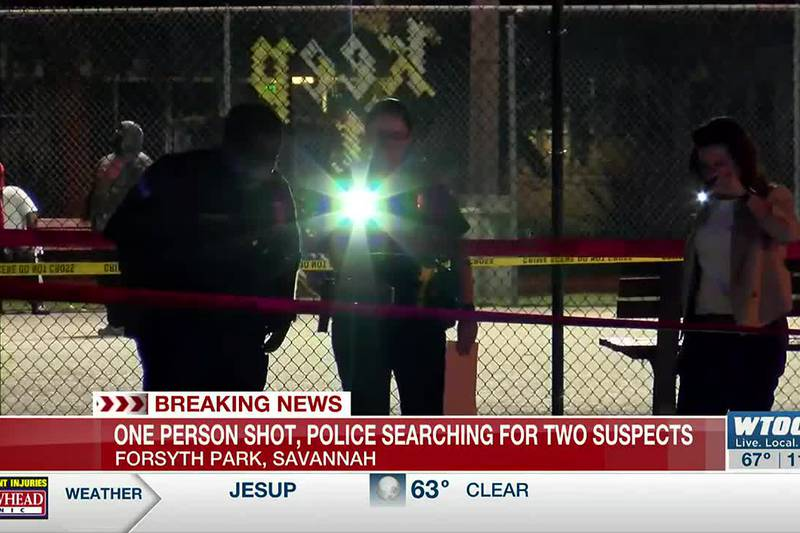 Savannah Police investigating shooting at Forsyth Park, two suspects considered at large