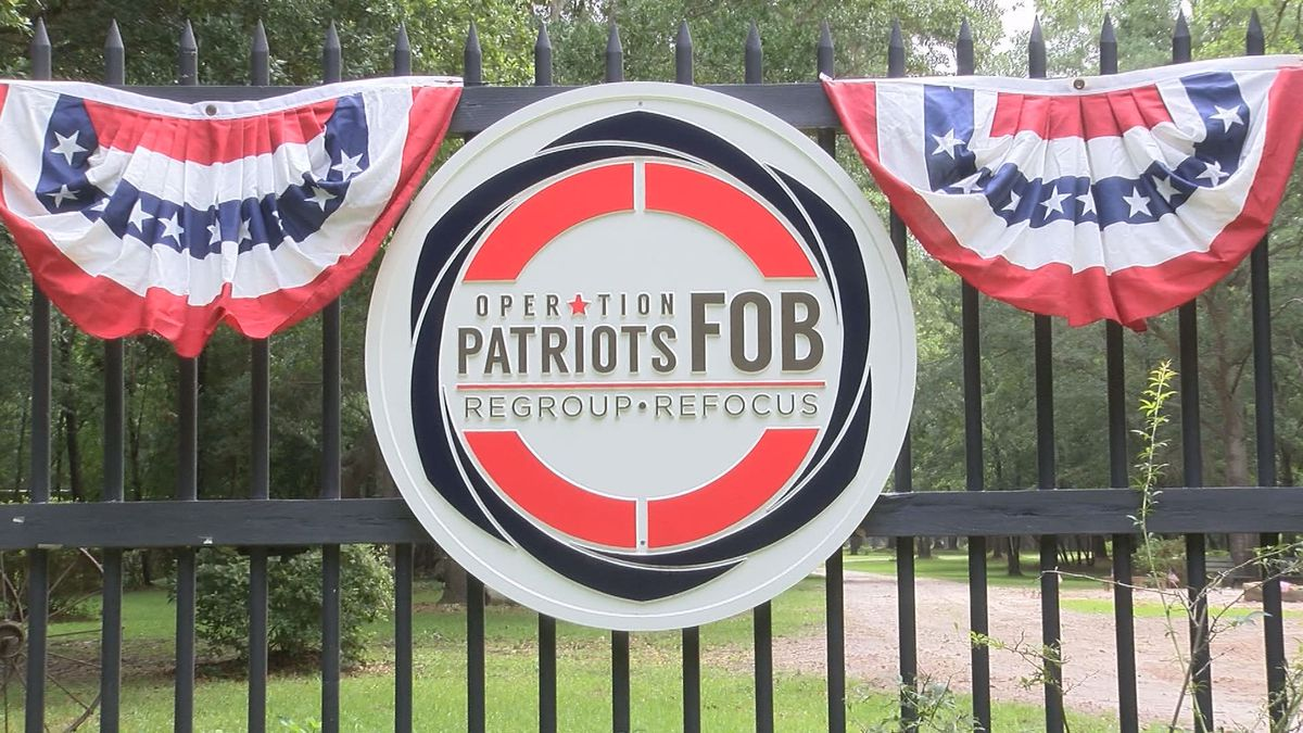 Non-Profits like Operation Patriots FOB in Okatie, S.C. works with veterans who suffer from PTSD.