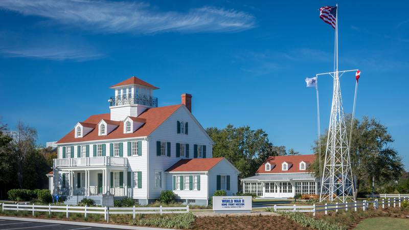 FILE - World War II Home Front Museum at the Historic Coast Guard Station, East Beach, St....