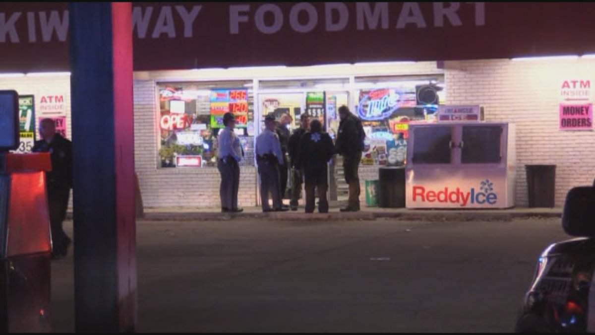 A convenience store clerk shot and killed a man allegedly trying to rob the Kwikway Foodmart,...