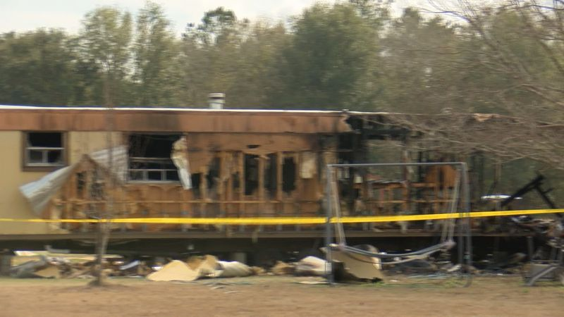 A family in Ellabell is trying to figure out what's next after a fire destroyed their mobile...