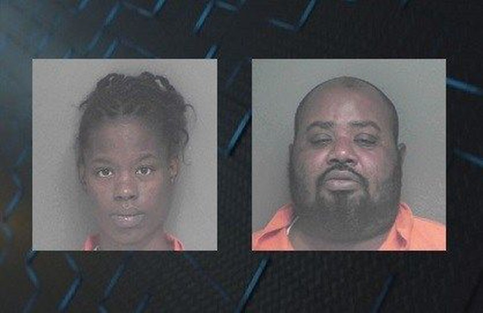 (L to R: LaTasha Smith, Eric Smith) (Source: Appling County Sheriff's Office)