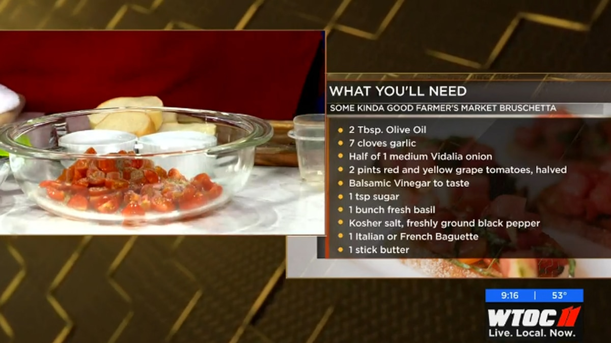 Georgia Southern Alumna and Food Network Star finalist Rebekah Lingenfelser shows us how to...