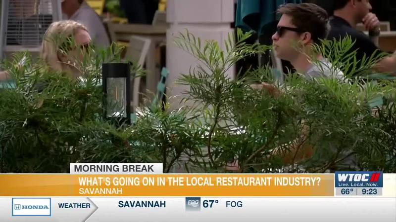 Jesse Blanco tells us what's going on in the local restaurant industry
