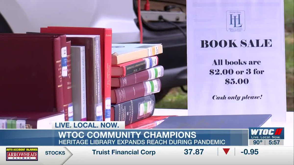 Community Champions: Heritage Library expands reach during pandemic