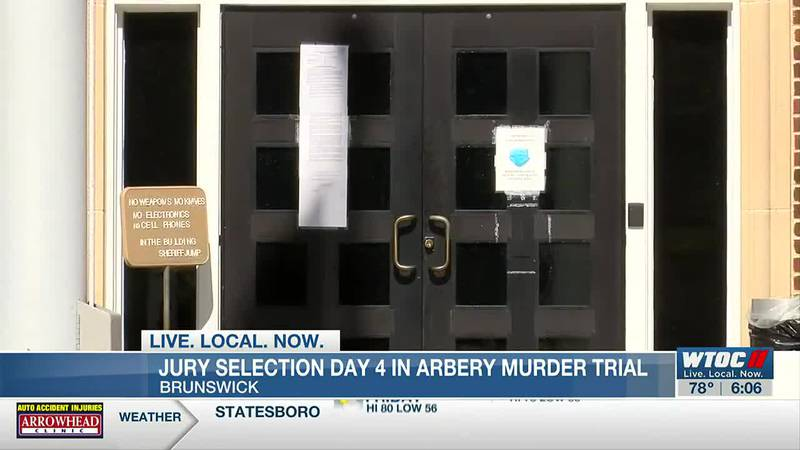 Day 4: Jury selection continues for Ahmaud Arbery murder trial