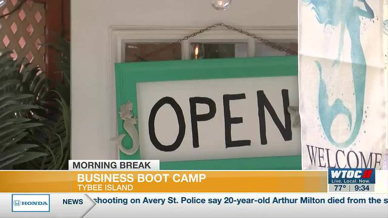 Business Bootcamp begins on Tybee Island