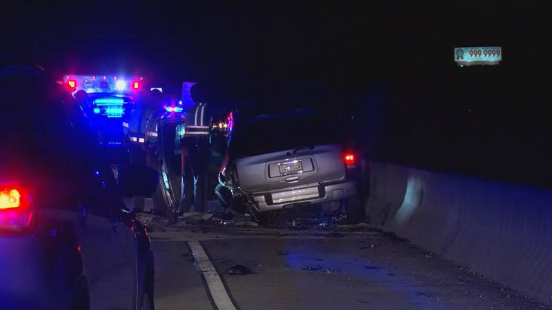The Savannah Police Department is on the scene of a wreck on the Back River Bridge that has...