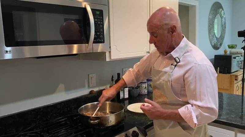 Cook with Tim: Sausage and spinach stuffed chicken